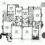 Eplans Bungalow House Plan Duplex Farmhouse Appeal