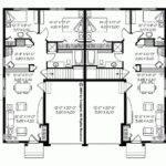 Eplans Bungalow House Plan Uncomplicated Duplex Design Square