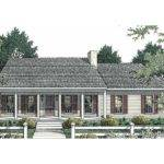 Eplans Cape Cod House Plan Small Scale Living Square Feet