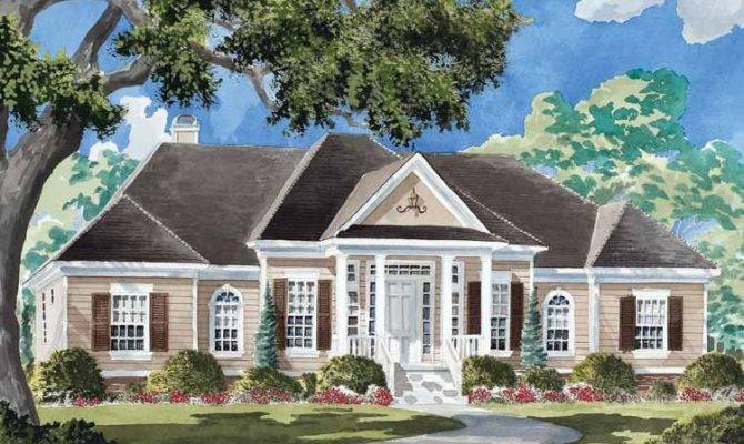Eplans Colonial House Plan Harrison Place