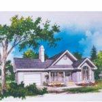 Eplans Cottage House Plan Cathedral Ceilings Square Feet