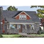 Eplans Cottage House Plan Comfortable Cozy Craftsman