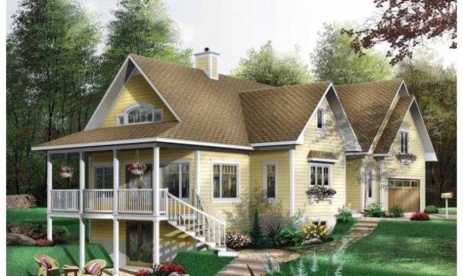 Eplans Cottage House Plan Cute Square Feet
