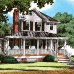 Eplans Cottage House Plan Four Bedroom Screened Porch