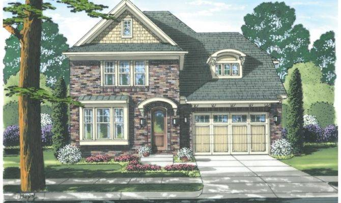 Eplans Cottage House Plan Narrow Lot Homes Offers Spacious Living