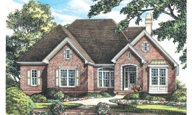 Eplans Cottage House Plan Old World Charm Square Feet