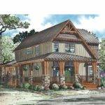 Eplans Cottage House Plan Rustic Open Narrow Lot