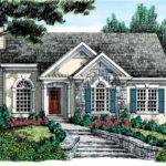 Eplans Cottage House Plan Stucco Stone Exterior Square