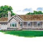 Eplans Country House Plan Clever One Story Ranch Square Feet