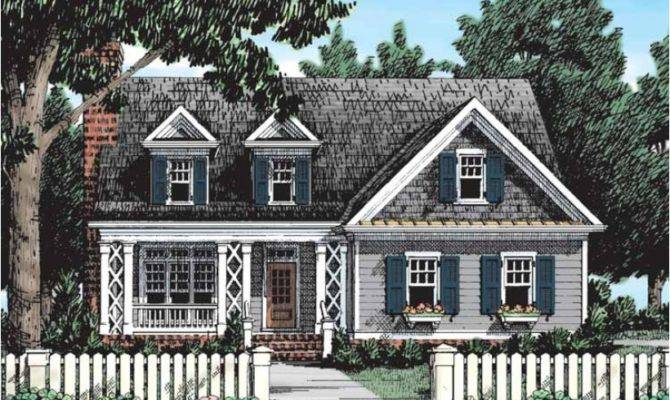 Eplans Country House Plan Perfect Seaside Summer Cottage