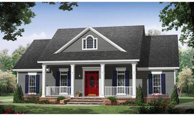 Eplans Country House Plan Square Feet Bedrooms