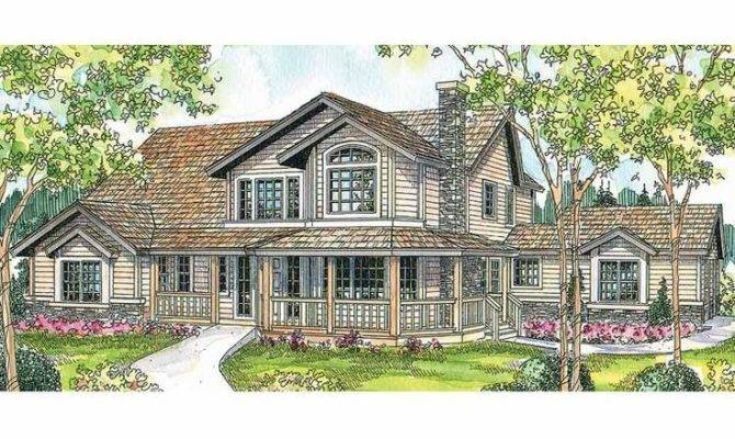 Eplans Country House Plan Welcoming Style Home Square