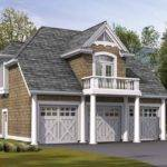 Eplans Craftsman House Plan Cottage Style Garage Living Above