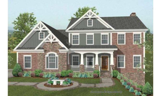 Eplans Craftsman House Plan Stunning Hillside Home Square