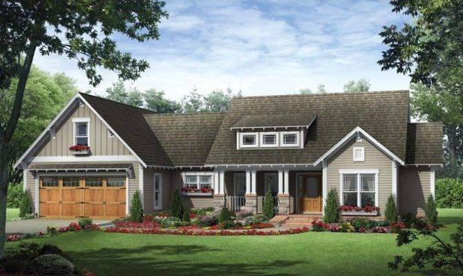 Eplans Craftsman House Plan Three Bedroom Ranch