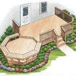 Eplans Deck Plan Octagonal Bay Surrounded Floating Benches