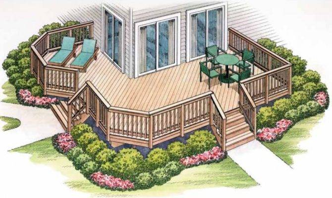 Eplans Deck Plan Shaped Delivers House