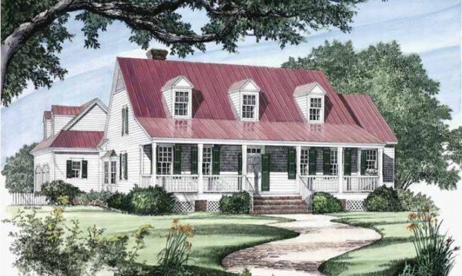 Eplans Farmhouse House Plan Carolina Coastal Square Feet