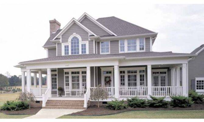 Eplans Farmhouse House Plan Country Perfection Square Feet