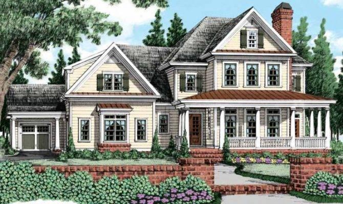 Eplans Farmhouse House Plan Four Bedroom Square