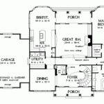 Eplans French Country House Plan Foyer Spiral Staircase