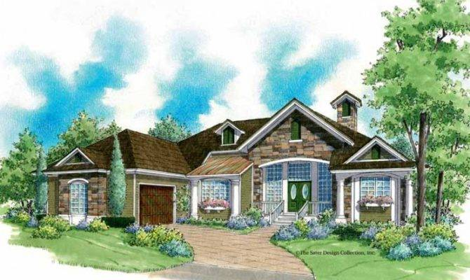 Eplans French Country House Plan Rustic Yet Modern Square