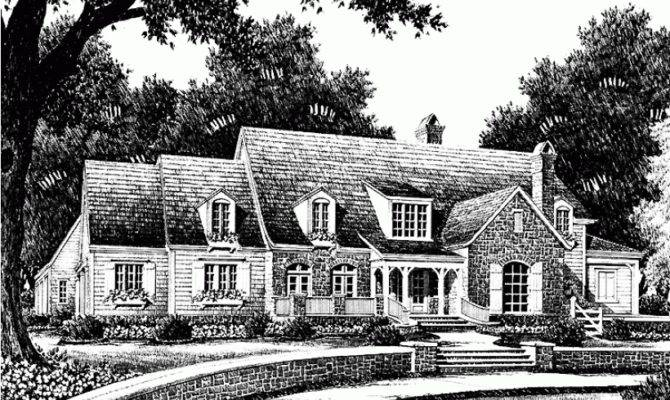 Eplans French Country House Plan Whitfield Southern Living
