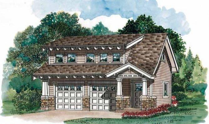 Eplans Garage Plan Craftsman Carriage House Square Feet