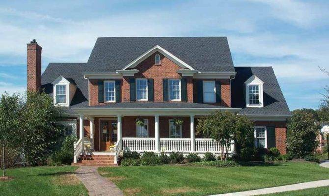Eplans Greek Revival House Plan Country Colonial Square Feet