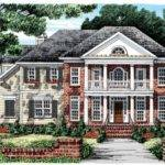 Eplans Greek Revival House Plan Delightful Double Decker Porch