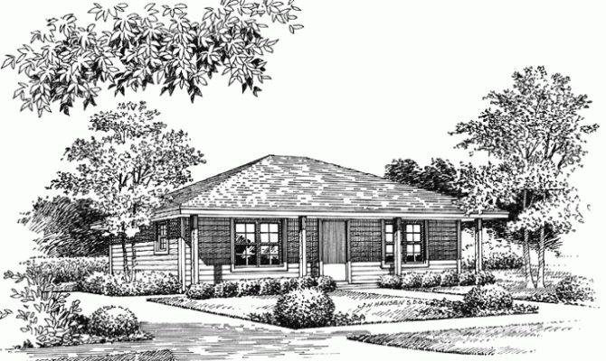 Eplans Low Country House Plan Bungalow Style Home Square Feet