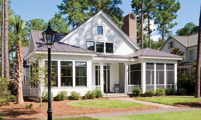 Eplans Low Country House Plan Square Feet Bedrooms