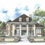 Eplans Neoclassical House Plan Alluring Two Story Turret