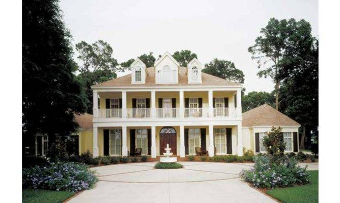 Eplans Neoclassical House Plan Southern Charm Square Feet