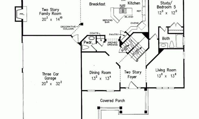 Eplans New American House Plan Angled Shape Stair Square