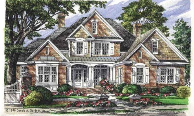Eplans New American House Plan Haynesworth Square Feet