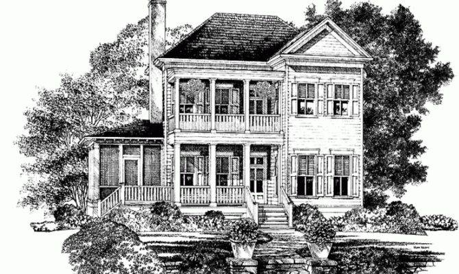 Eplans Plantation House Plan Bradley Southern Living