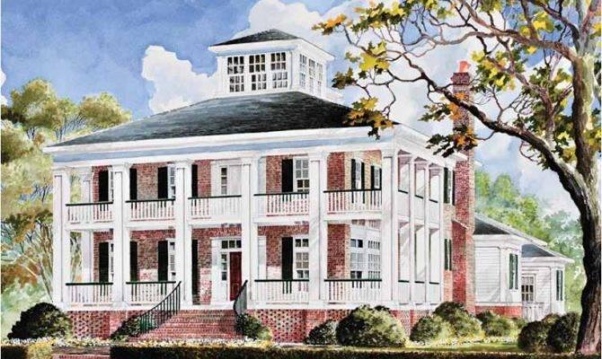 Eplans Plantation House Plan Smythe Park Southern