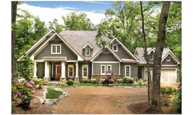 Eplans Ranch House Plan Four Bedroom Mountain Cottage Square