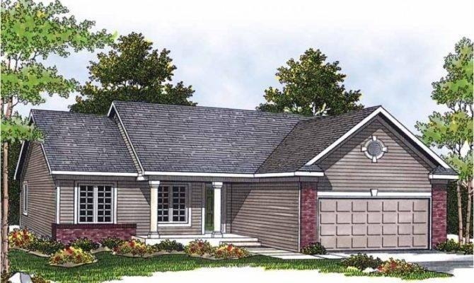 Eplans Ranch House Plan Modest Design Square Feet