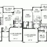 Eplans Ranch House Plan One Story Traditional Duplex Square
