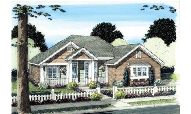 Eplans Traditional House Plan Awesome Front Porch Square Feet