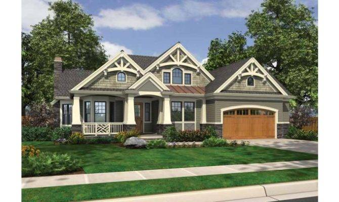 Eplans Traditional House Plan Rustic Rambler Expressive