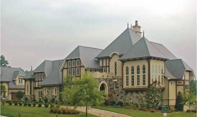 Eplans Tudor House Plan Plenty Curb Appeal Square Feet