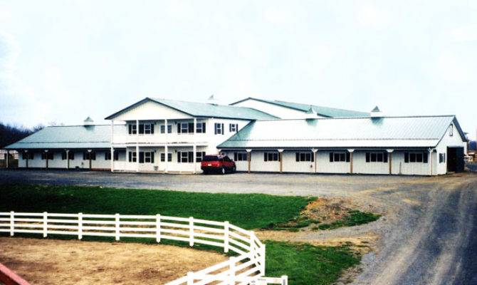 Equestrian Lester Buildings Horse Boarding Stables