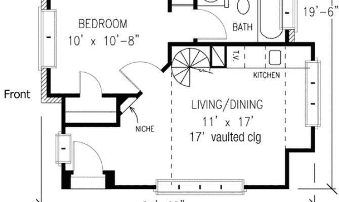 Estate Guest Cottage Architectural Designs