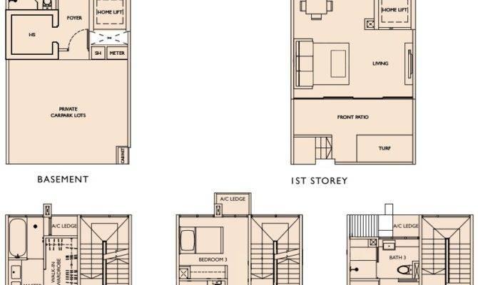 Este Villa Floor Plans Cluster Houses