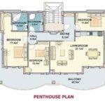 Etage Plan Dublex Penthouse