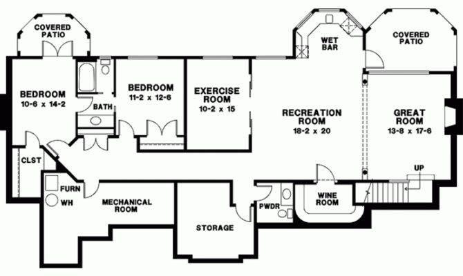 European House Plan Eight Bedroom Square Feet Bedrooms
