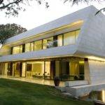 European Modern Exterior Homes Designs Madrid
